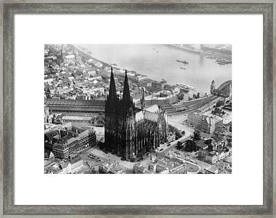 Cologne, Germany, The Cologne Cathedral Framed Print by Everett