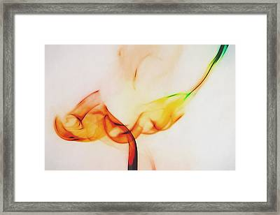 Color And Smoke I Framed Print by Scott Norris