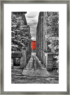 Color At The End Framed Print by Tim Wilson