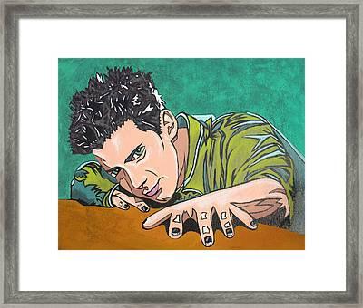 Color Change Framed Print by Sarah Crumpler