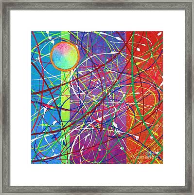 Color Fervor Framed Print by Jeremy Aiyadurai