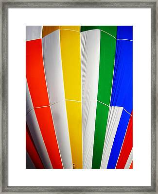 Color In The Air Framed Print by Juergen Weiss