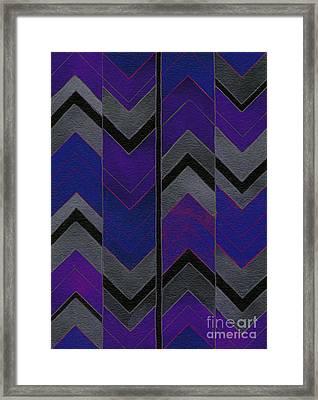 Color Mood Sensation Framed Print by Norma Appleton