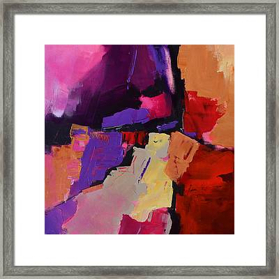 Color My Dreams - Art By Elise Palmigiani Framed Print by Elise Palmigiani