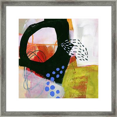 Color, Pattern, Line #3 Framed Print by Jane Davies
