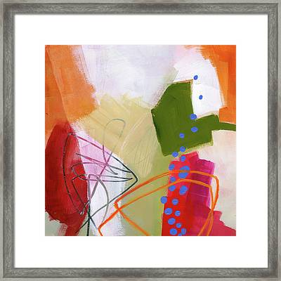 Color, Pattern, Line #4 Framed Print by Jane Davies