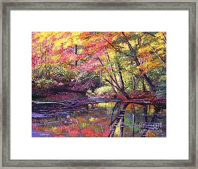 Color Poetry Framed Print by David Lloyd Glover