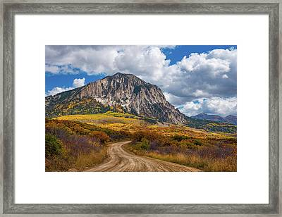 Colorado Backroads Framed Print by Darren White