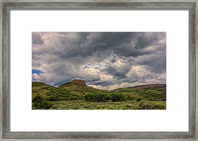 Colorado Cloudscape Framed Print by Loree Johnson