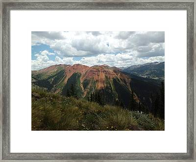 Colorado Mountain 4 Framed Print by Bruce Miller