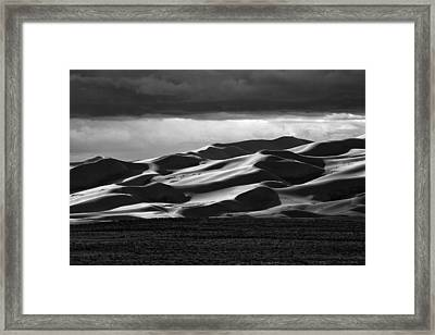 Colorado Sand Dunes Framed Print by Mark Courage