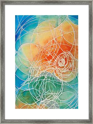 Colorful Art - Color Wash - By Sharon Cummings Framed Print by Sharon Cummings