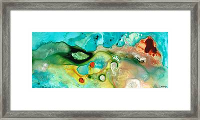 Colorful Art - Soul Shine - Sharon Cummings Framed Print by Sharon Cummings
