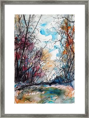 Colorful Autumn Framed Print by Kovacs Anna Brigitta