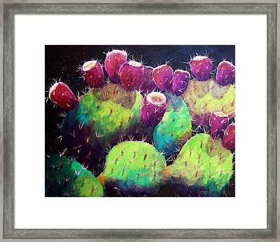 Colorful Fruit Framed Print by Candy Mayer