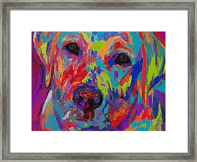 Colorful Heart Framed Print by Patti Siehien