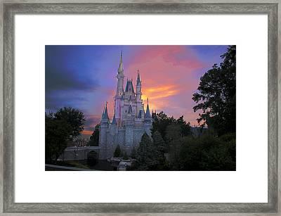Colorful Magic Framed Print by Ryan Crane