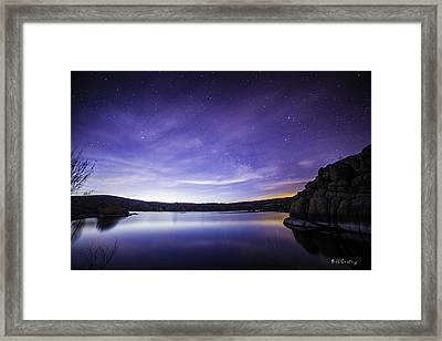 Colorful Place Framed Print by Bill Cantey