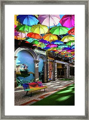 Colorful Street II Framed Print by Marco Oliveira
