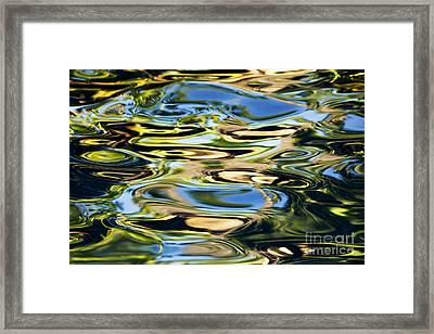 Colorful Water Ripples Framed Print by Dave Fleetham - Printscapes