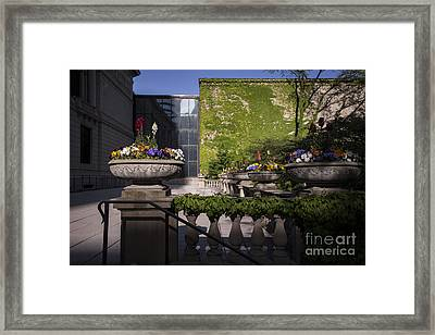 Colors And Shadows Framed Print by David Bearden