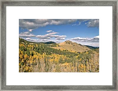 Colors In Colorado Framed Print by James Steele