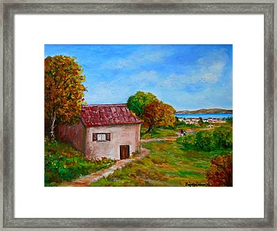 Colors Of Autumn1 Framed Print by Constantinos Charalampopoulos