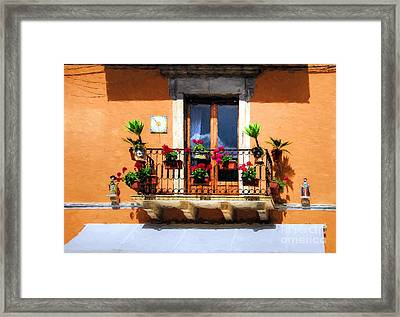 Colors Of Sicily # 3 Framed Print by Mel Steinhauer