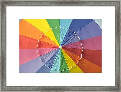 Colors Of Summer Framed Print by David Lee Thompson