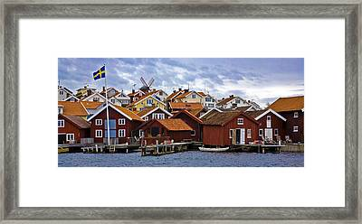 Colors Of Sweden Framed Print by Frank Tschakert