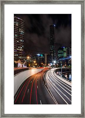 Colors Of The City Framed Print by Parker Cunningham