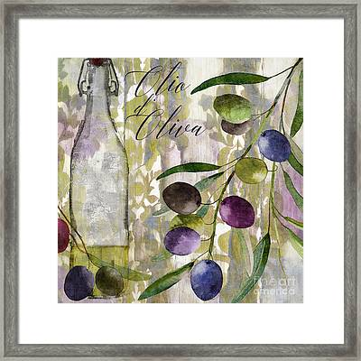 Colors Of Tuscany Framed Print by Mindy Sommers