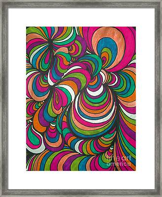 Colorway1 Framed Print by Ramneek Narang