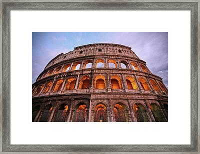Colosseum - Coliseu Framed Print by Ruy Barbosa Pinto