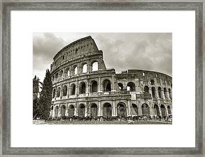 Colosseum  Rome Framed Print by Joana Kruse