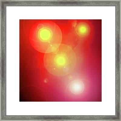 Colour-light No. 01 Framed Print by Ramon Labusch