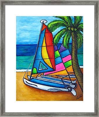Colourful Hobby Framed Print by Lisa  Lorenz