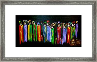 Colourful South Africa Framed Print by Marietjie Henning
