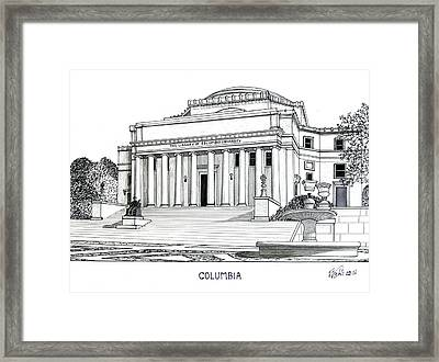 Columbia Framed Print by Frederic Kohli