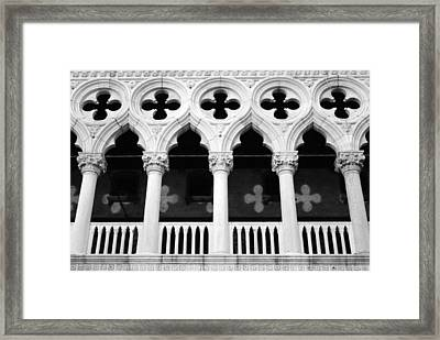 Columns- By Linda Woods Framed Print by Linda Woods