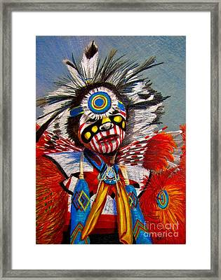 Comanche Dance Framed Print by Marilyn Smith