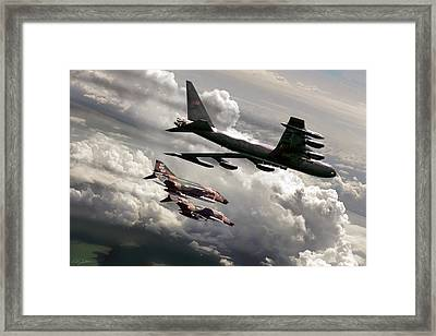 Combat Air Patrol Framed Print by Peter Chilelli