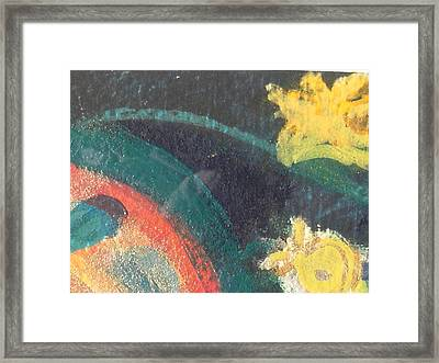 Come And Join Us Back Into The Loop Framed Print by Anne-Elizabeth Whiteway