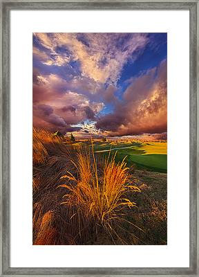 Come Dance With The West Wind Framed Print by Phil Koch