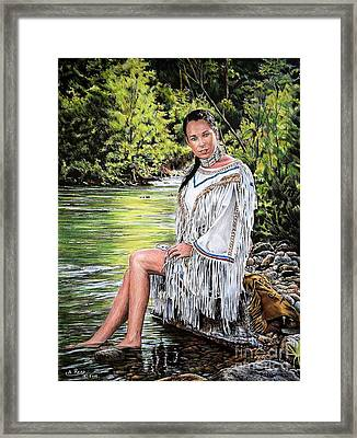 Come Sit With Me Framed Print by Andrew Read
