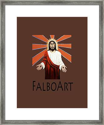 Come T-shirt Framed Print by Anthony Falbo