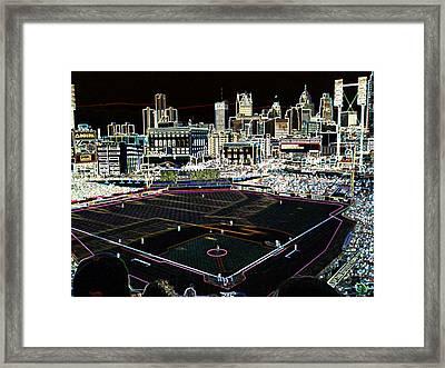 Comerica Park Detroit Framed Print by Glen W Ferguson
