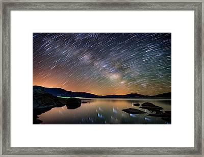 Comet Storm - Colorado Framed Print by Darren White