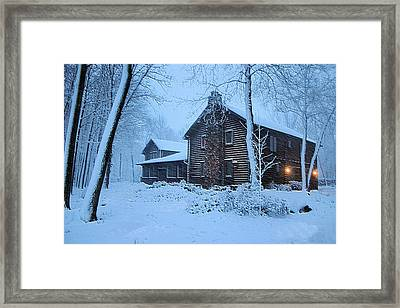 Comfort From The Cold Framed Print by Kristin Elmquist