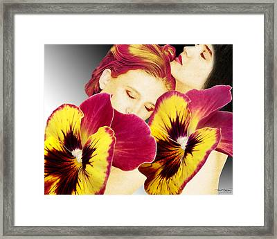 Comfort Framed Print by Torie Tiffany